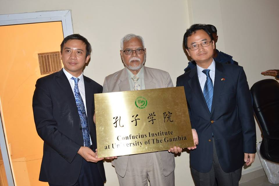 Ambassador of the People's Republic of China to The Gambia, Zhang Jiming, recently led officials of Guizhou University of China to the University of the Gambia